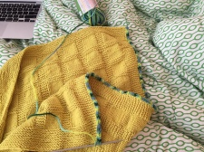 Knitting the i-cord border